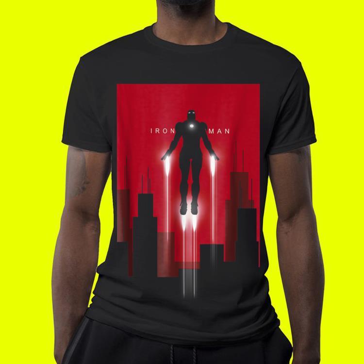 Marvel Iron Man in Flight Deco Art Style shirt 4 - Marvel Iron Man in Flight Deco Art Style shirt