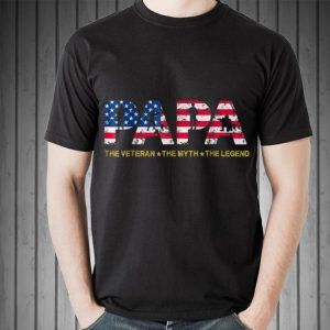 Papa The Veteran The Myth The Legend shirt