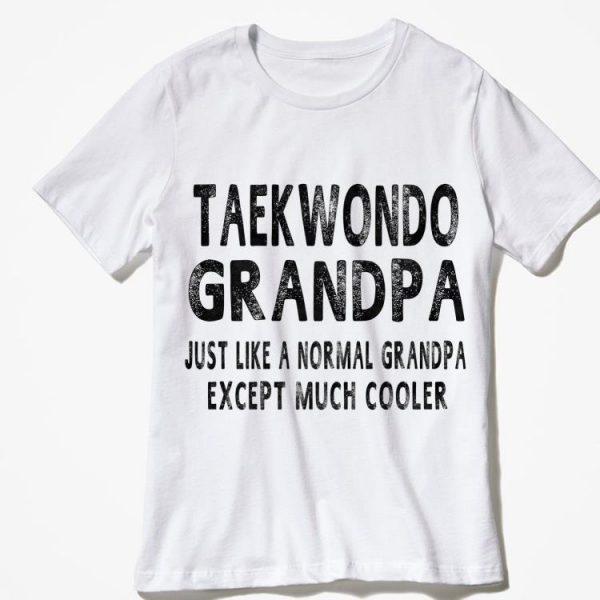 Taekwondo Grandpa Fathers Day shirt