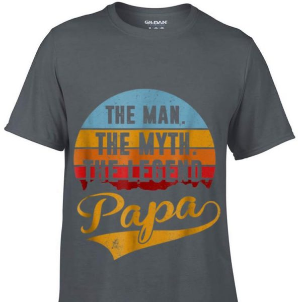 The Man The Myth The Legend Papa Sunset shirt