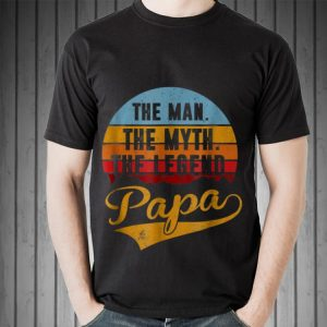 The Man The Myth The Legend Papa Sunset shirt