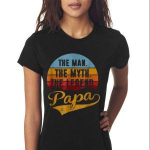 The Man The Myth The Legend Papa Sunset shirt 2