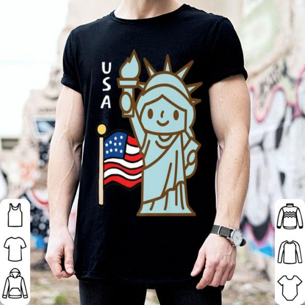 4 Of July Independence Day Statue Of Liberty shirt