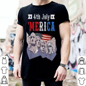 4th July 'Merica American Flag Patriot Independence Day shirt