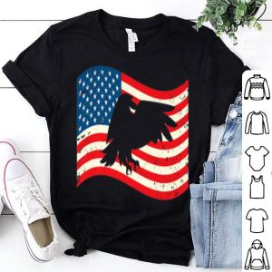 4th Of July Bald Eagle USA Flag American Flag shirt