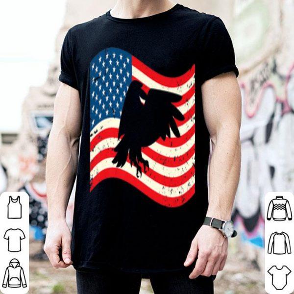 4th Of July Bald Eagle USA Flag American Flag shirt
