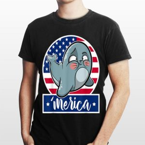 4th Of July 'Merica Seal & American Flag shirt