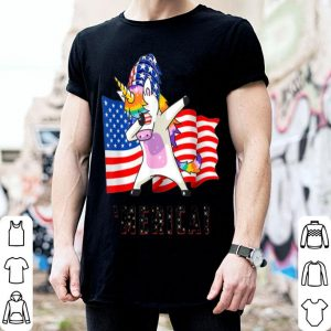 4th of July Unicorn Merica Independence Day shirt