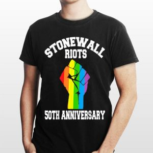 50th Anniversary Stonewall Riots Anniversary Rainbow Flag shirt