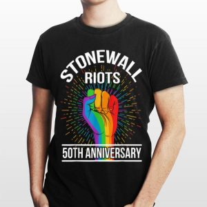 50th Anniversary Stonewall Riots Anniversary Rainbow shirt