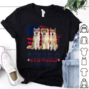 Akita America 4th Of July Independence Day shirt
