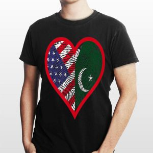 America And Pakistan Two Countries One Heart shirt