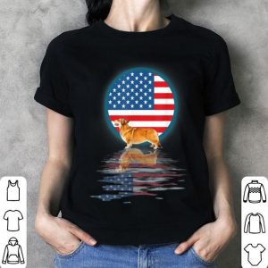 American Flag 4th Of July Independence Day Corgi shirt