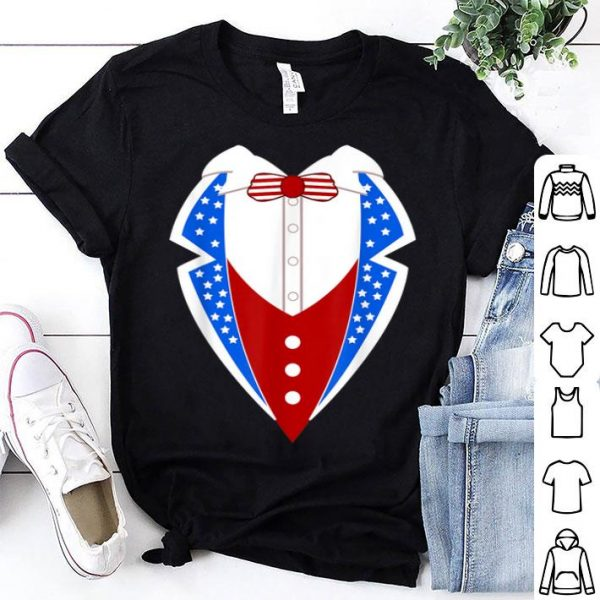 American Tuxedo USA Flag 4th Of July shirt