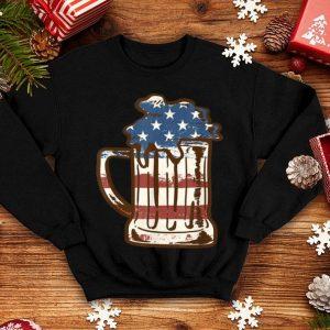 Beer American Flag 4th Of July American Flag shirt