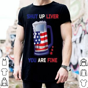 Beer Mug Outfit Usa Flag 4th Of July Clothes shirt