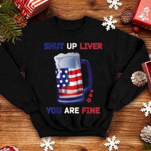 Beer Mug Outfit Usa Flag 4th Of July Clothes shirt