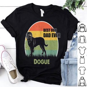 Best Dog Dad Ever Dogue Father Day 2019 shirt