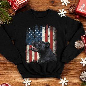 Cane Corso American Flag Usa Patriotic Dog Lover shirt