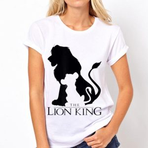 Disney Lion King Classic Simba Silhouette shirt