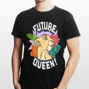 Disney Lion King Nala Future Queen Flowers Graphic shirt