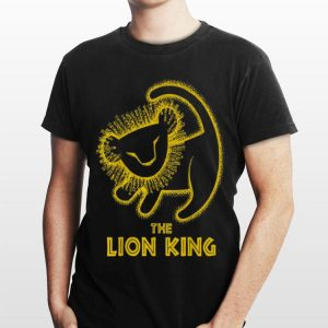 Disney Lion King Simba Cave Painting shirt