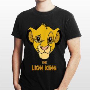 Disney Lion King Simba Face Portrait Movie Logo shirt