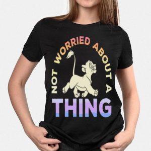 Disney Lion King Simba Not Worried Gradient shirt