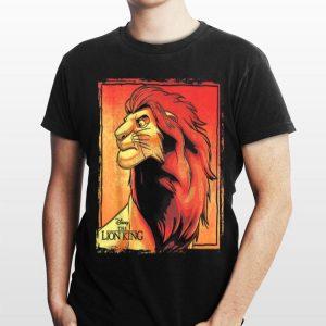Disney Lion King Simba Painted Portrait Logo shirt