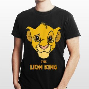 Disney Lion King Young Simba Face shirt
