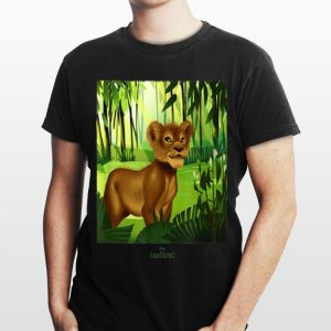 Disney The Lion King Simba in the Jungle Live Action shirt