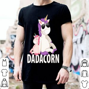 Fathers Day Dadacorn Dad And Baby shirt