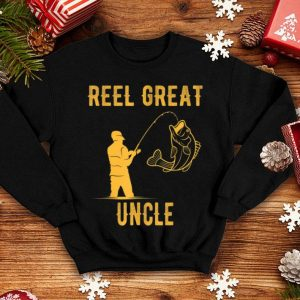 Fathers Day Reel Great Uncle Fishing Lover shirt