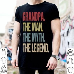 Grandpa Man Myth Legend Father Day shirt
