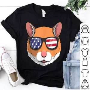 Hamster Patriotic Usa 4th Of July American Cute shirt