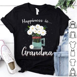 Happiness is Grandma Flower Lover Mother's Day shirt