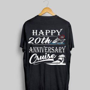 Happy 20th Anniversary Cruise shirt
