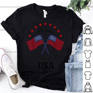 July 4th Patriotic American Flag Independence Day shirt