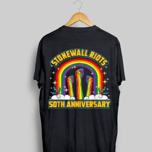 Lgbtq Lesbian Gay Pride Stonewall Riots 50th Anniversary shirt