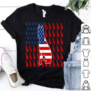 Patriotic American Flag Cane Corso For 4th Of July Day shirt