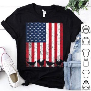 Usa 4th Of July Chicken American Flag shirt