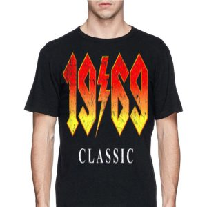 50th Birthday 1969 Clasic Rock Band Legend shirt