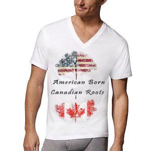 American Born Canadian Roots shirt