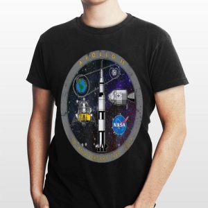 Apollo 11 50 Anniversary 1969 2019 Circle Logo shirt