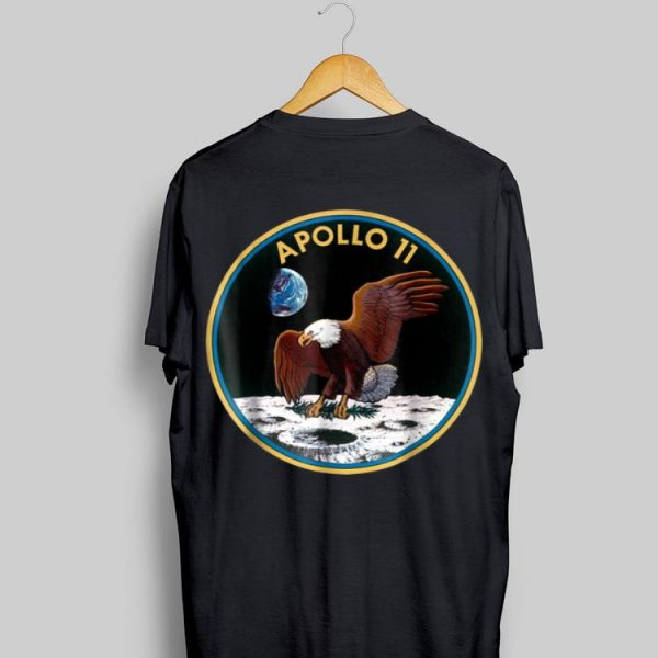 Apollo 11 NASA Space Moon Landing Eagle With Olive shirt