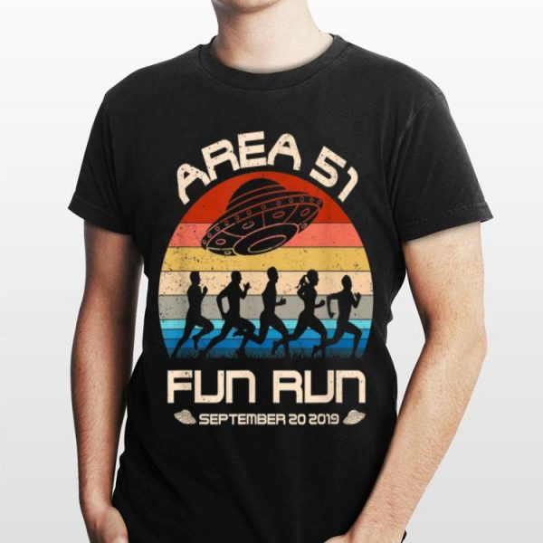 Area 51 Fun Run September 20 20149 Vintage UFO shirt