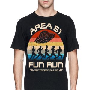 Area 51 Fun Run September 20 20149 Vintage UFO shirt