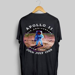 Astronaut Apollo 11 50th Anniversary Moon Landing 1969 2019 shirt
