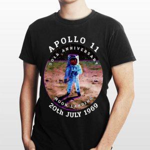 Astronaut Apollo 11 50th Anniversary Moon Landing 1969 2019 shirt