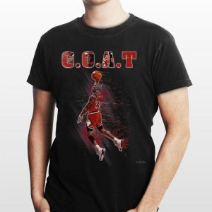 Basketball Chicago Jordan Legend GOAT Slam Dunk shirt